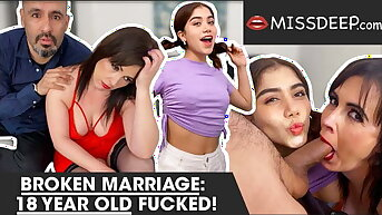 Marriage broken, 18 excellence old banged! MISSDEEP.com