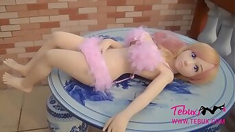 Busty and portable doggystyle teen sexual intercourse doll