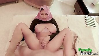 FamilyStroke.net - Hijab Teen and Bro's Sex Romance
