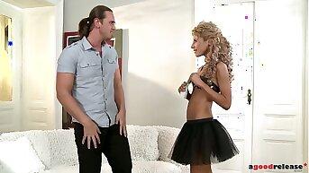 Petite escort Victoria Tiffani loves Anal Sex with clientele