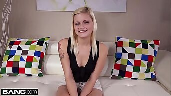 Tiny Teen Madison Hart Gets A Creampie In Her Barely Legal Pussy