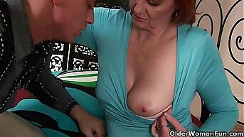Grandma wants your fist and warm cum