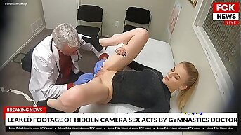 FCK News - Leaked Footage Be beneficial to Doctor Going to bed His Comme �a Patient
